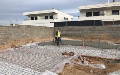 VIVIENDA D'URA | Cimentación y saneamiento