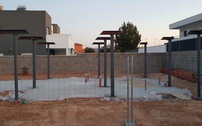 VIVIENDA D'URA | Estructura pilares metálicos