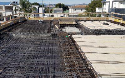 VIVIENDA D'URA | Construcción del forjado