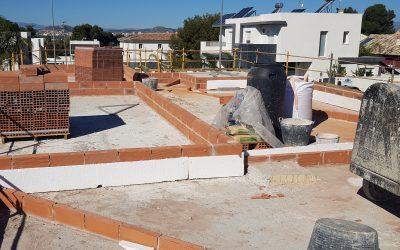 VIVIENDA D'URA | Construcción de la cubierta