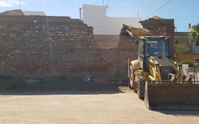 VIVIENDA PORTALET   Demolición