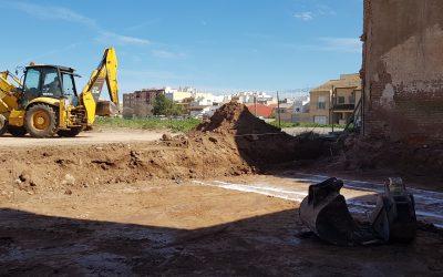 VIVIENDA PORTALET   Replanteo y excavación