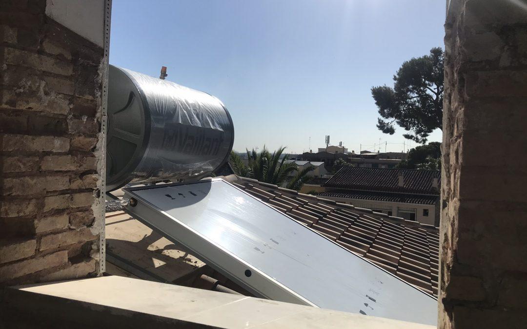 VIVIENDA PLAZA ESPAÑA | Caldera y Placa solar