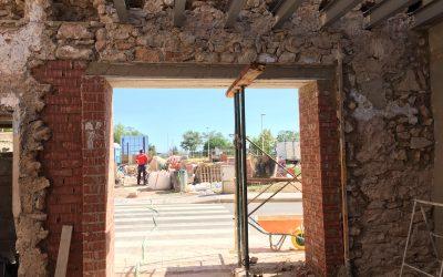VIVIENDA DE L'ELIANA | Desplazamiento de puerta