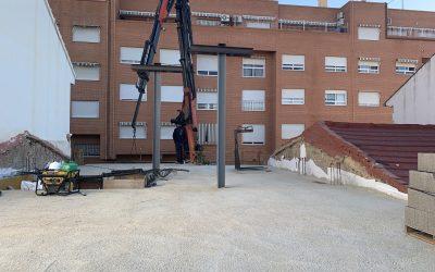 VIVIENDA AVE MARÍA   Forjado y pilares p1